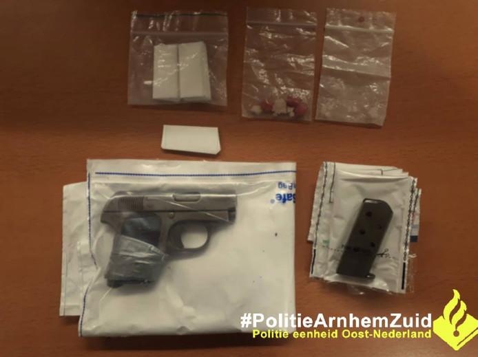 De vondst van de Politie Arnhem-Zuid.