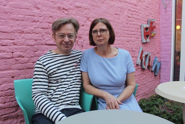 Anja Arts en Christophe De Coninck van STAT.