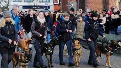 Sint-Antonius beschermt ook politiehonden