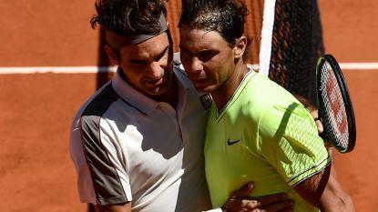 Noch Federer noch de wind krijgt Nadal klein