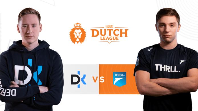 Defusekids en Team THRLL maken in een onderling duel uit wie het in de finale van de Dutch League op gaat nemen tegen PSV Esports.