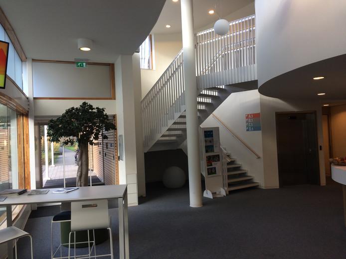De centrale hal van autismekliniek Lorna Wing.