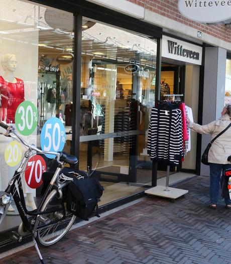 Witteveen Mode failliet: winkels in regio vandaag toch open