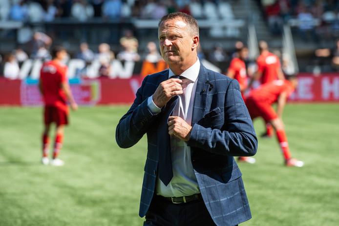 John van den Brom: ,,Maher heeft weinig speelminuten in de benen, maar is goed genoeg voor een plek bij de selectie.''