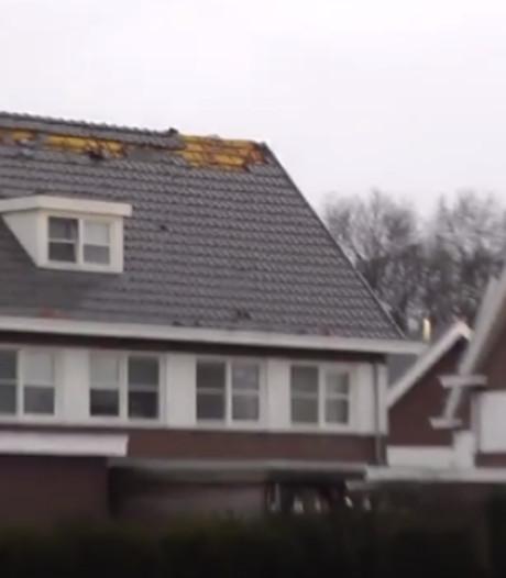 Fikse schade aan woningen in Voorthuizen door zware windstoot