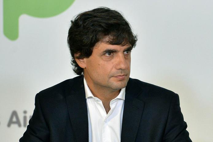 Hernan Lacunza, de opvolger van de vertrokken minister van Financiën Nicolas Dujovne.