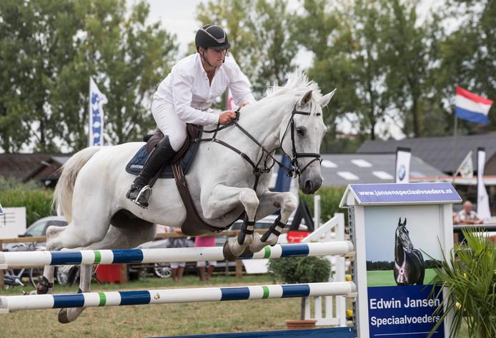 Winnaar Sander Geerink.