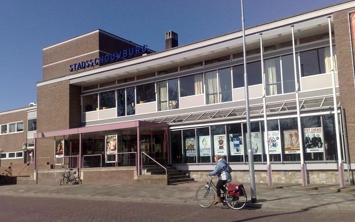 De Stadsschouwburg in Middelburg aan het Molenwater.