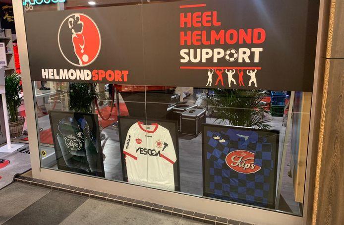 Helmond Sport mag de winkel gebruiken tot een nieuwe huurder zich meldt bij de pandeigenaar.