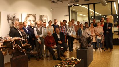Werkgroep Beeldende Kunst ontvangt 18 kunstenaars