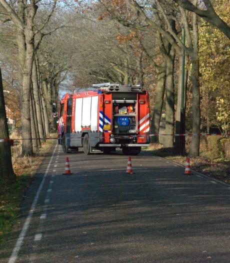 Gaslek in Boxtel, Esschebaan enige tijd afgesloten geweest