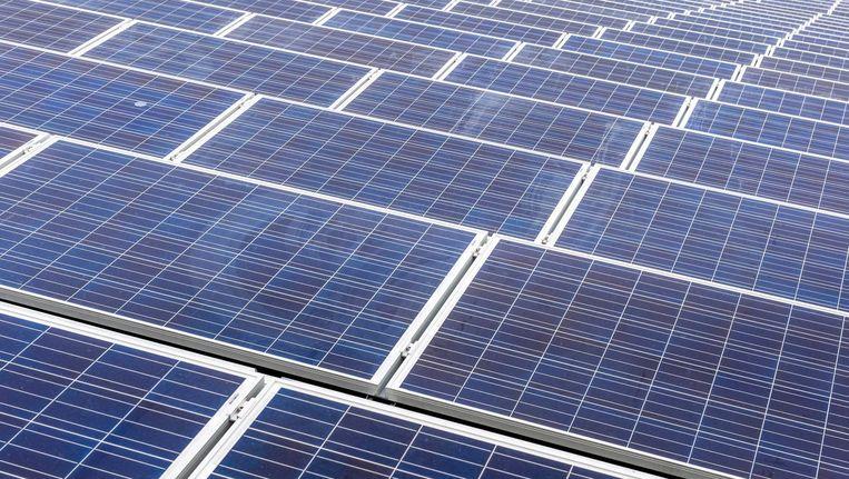 Met de investering van 3 miljoen euro besparen de schoolbesturen uiteindelijk 1,5 miljoen euro aan elektriciteitskosten Beeld anp