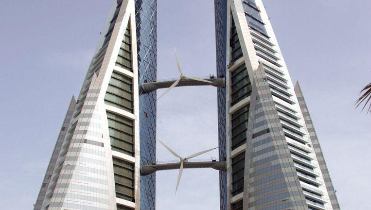 Het Bahrain World Trade Center. Beeld anp