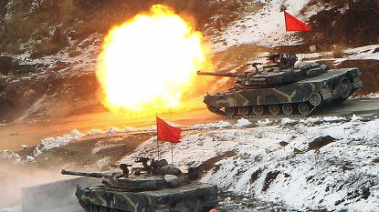 """Trump: """"Grote legeroefeningen met Zuid-Korea geschrapt om hoge kosten"""""""