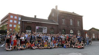 Protest tegen plannen stationsgebouw