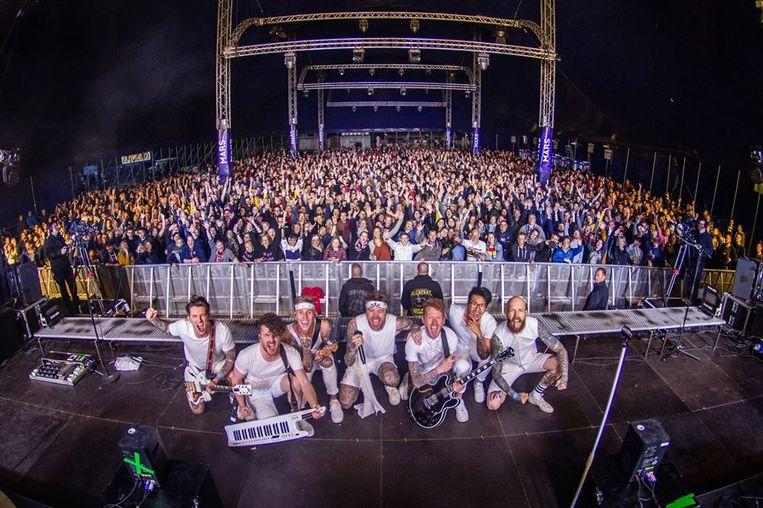 Vorig jaar trad de groep in juni op in Olen op festival Gladiolen