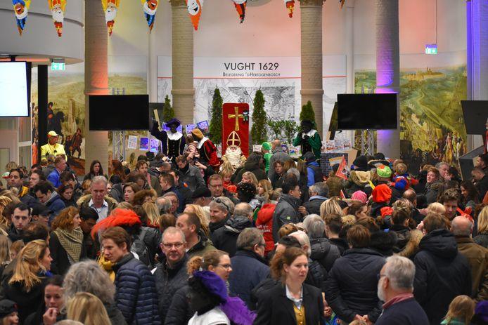 Sinterklaasviering in DePetrus in Vught.