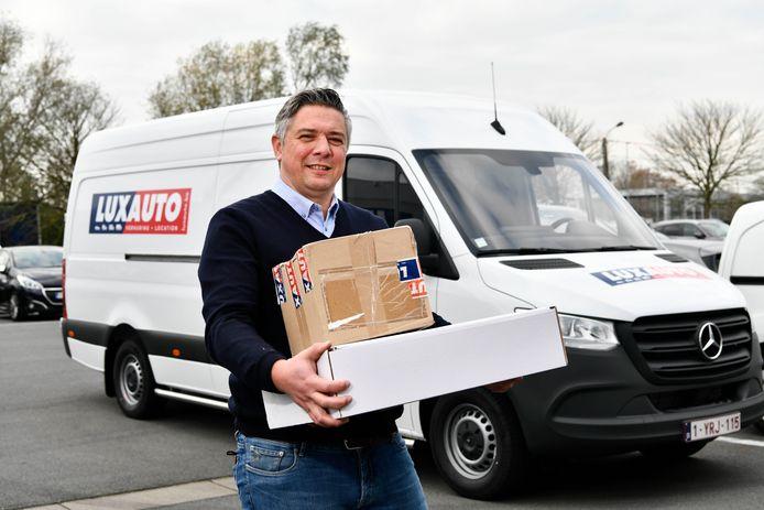 Nicolas De Smet verhuurt camionetten aan bpost