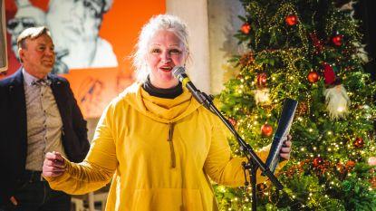 Gentse poetsvrouw brengt mooiste nieuwjaarsgroet