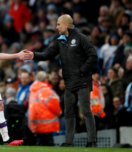 Guardiola wil ondanks CL-schorsing bij City blijven