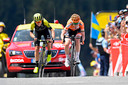 Annemiek van Vleuten won vorig jaar La Course door in een spectaculaire finale Anna van der Breggen te verslaan.