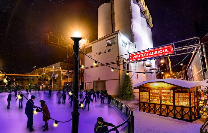Vanaf volgende week woensdag is de 1000 vierkante meter grote schaatsbaan toegankelijk voor publiek.
