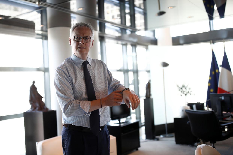 De Franse minister van Financiën Bruno Le Maire. Beeld Reuters