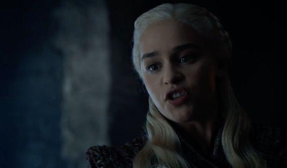 Daenerys is razend op Tyrion.
