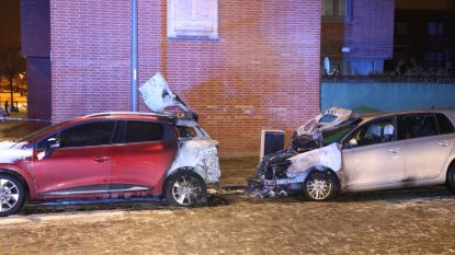 Twee wagens uitgebrand na vermoedelijke brandstichting in Wilrijk