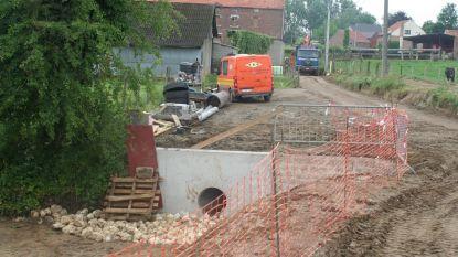 Rioleringswerken aan de Kapittelbergstraat