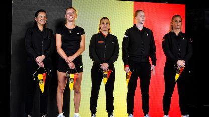 Belgisch Fed-Cup team strijdt op gravel in Genua voor behoud in de Wereldgroep