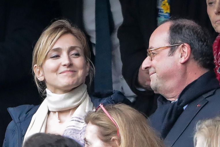 Voormalig Frans president François Hollande en zijn vriendin Julie Gayet, een gevierde actrice.