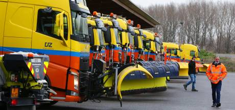 Hoe vanuit Houten tientallen strooiwagens en sneeuwschuivers de weg op gaan