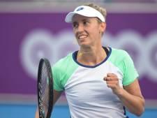 Elise Mertens en quarts de finale à Prague