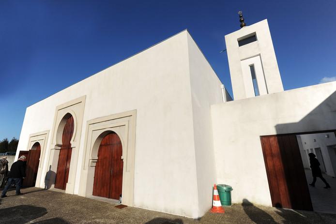 Een archieffoto uit 2015 van de moskee in Bayonne.