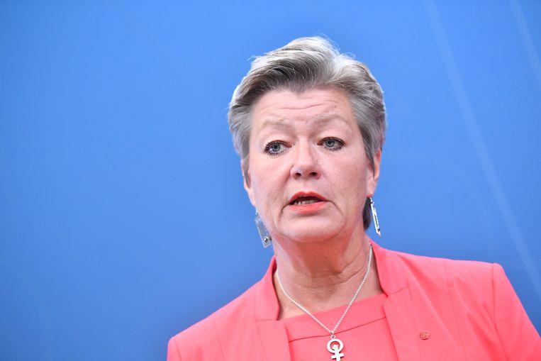 Huidig minister van Werk Ylva Johansson wordt voorgedragen als kandidaat-eurocommissaris.
