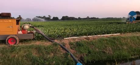 Boeren mogen slootwater niet meer onbeperkt gebruiken