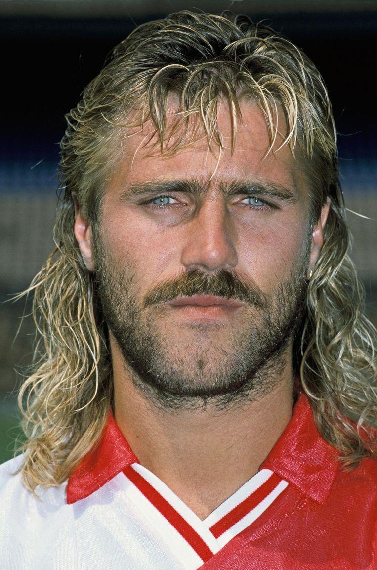 John de Wolf in het shirt van Feyenoord Beeld anp