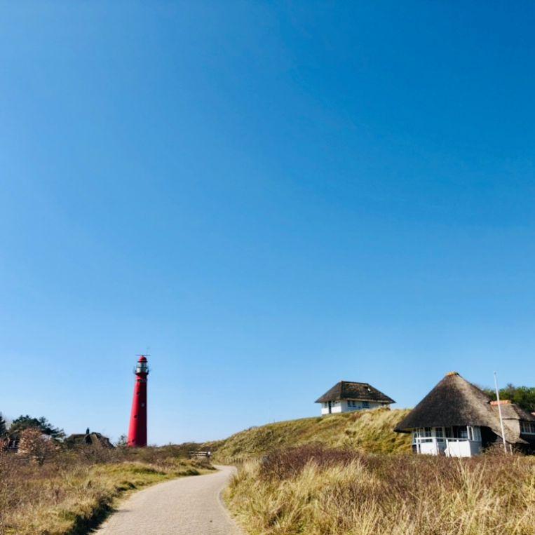 De Noordertoren op Schiermonnikoog.  Beeld