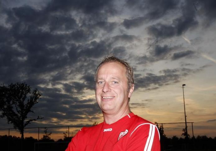 """ASV'33-trainer Mario Plugers: """"De kwaliteit is er, dat druipt van de training af."""" foto René Manders"""