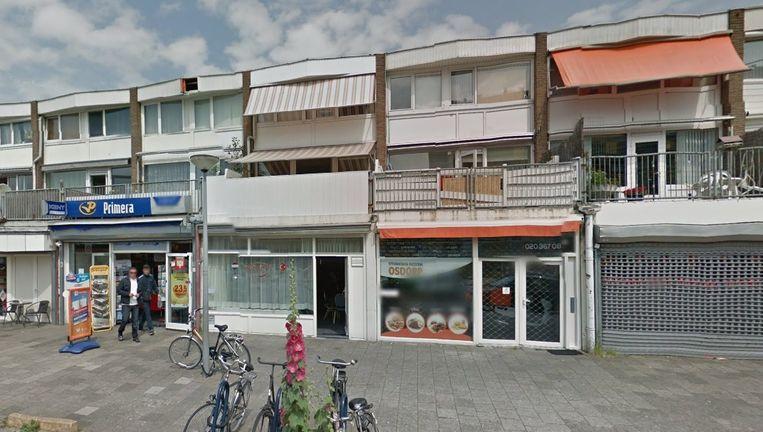 Koffiehuis Gulum, naast tabakswinkel Primera. Beeld Google Maps