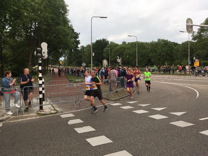 Deelnemers onderweg. Foto: Floris Brandriet