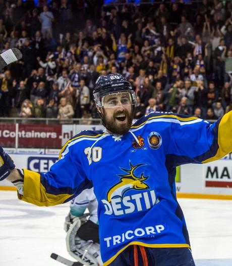 Nijmeegse ijshockeyers Bruijsten en Houkes: we zien elkaar 18 uur per dag