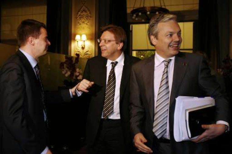 Didier Seeuws en Didier Reynders