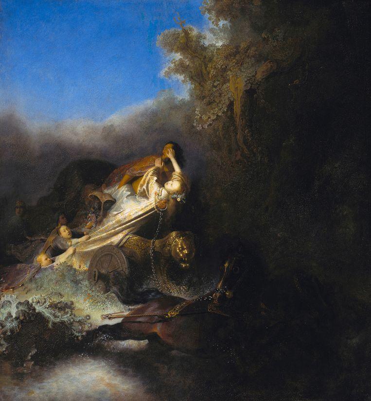 Rembrandt van Rijn, De ontvoering van Proserpina, uit circa 1631. Collectie Staatliche Museen, Berlijn. Beeld Heritage Images/Getty Images