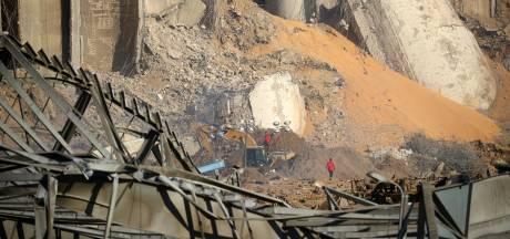 Zoeken naar overlevenden tussen puin Beiroet voortgezet