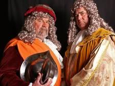 Broers Peters in de hoofdrol tijdens Historisch Spektakel