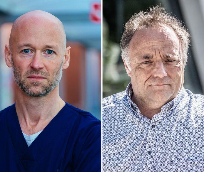 Geert Meyfroidt  et Marc Van Ranst.