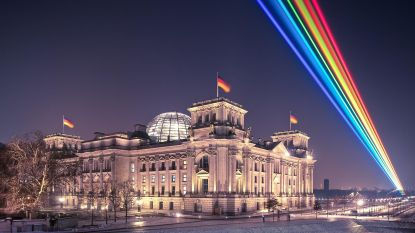 Mooiste regenboog op Antwerp Pride vind je 's nachts