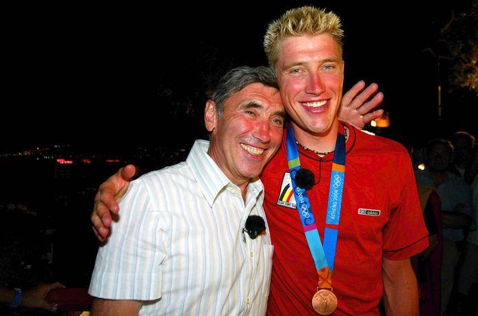 Avec la médaille de bronze conquise à Athènes, en 2004, Axel Merckx a joliment complété le palmarès olympique.
